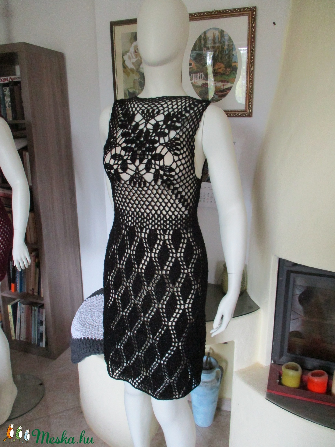 A kis fekete :-) - ruha & divat - női ruha - ruha - Meska.hu