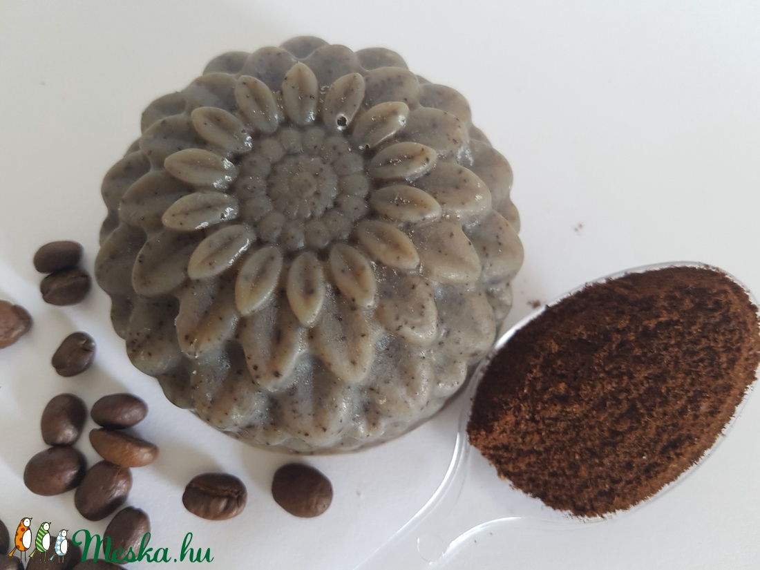 Kávé szappan kávéőrleménnyel (NatuRea) - Meska.hu