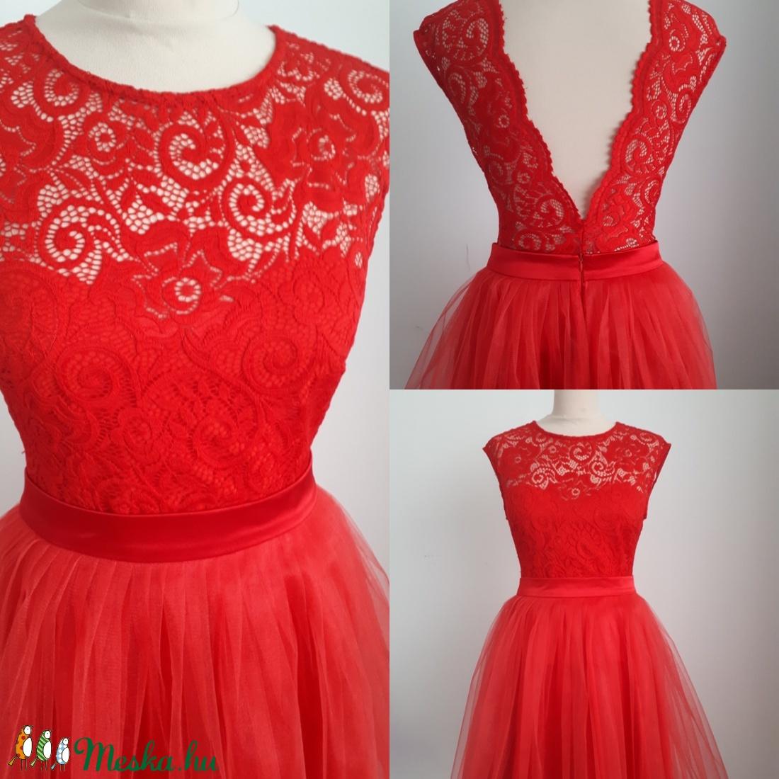 Nelli piros csipkebody (Naybel) - Meska.hu 9ff7a0d59c
