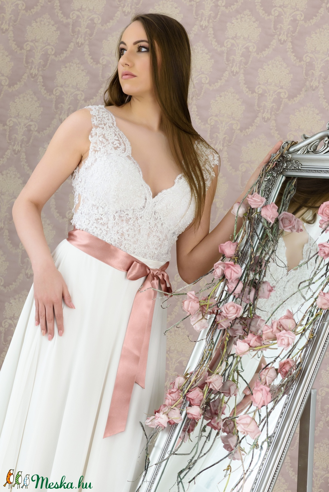 Menyasszinyi ruha (Naybel) - Meska.hu 228efa460d
