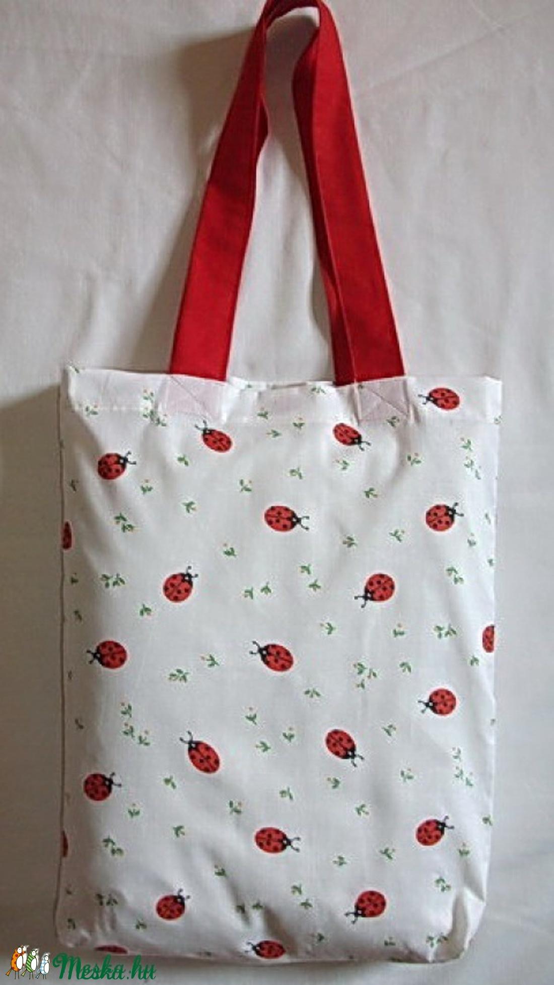 Katicás bevásárló táska