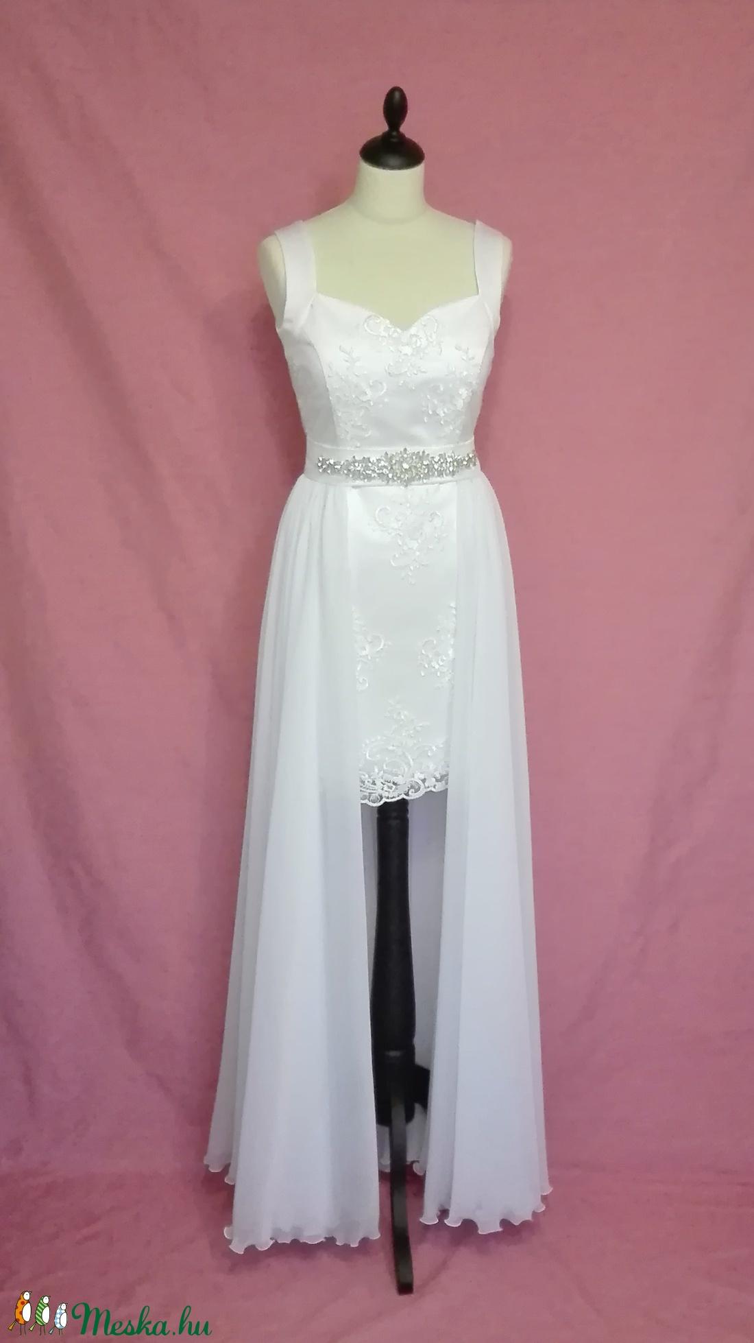 Két részes esküvői ruha (nicoledesign) - Meska.hu bdfa43e1ab