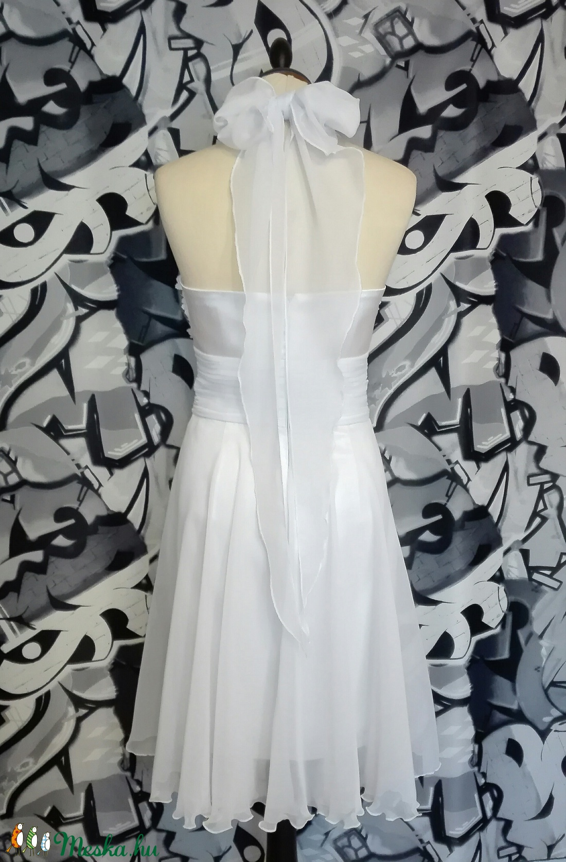 Fehér esküvői ruha (nicoledesign) - Meska.hu 59a2160d3e
