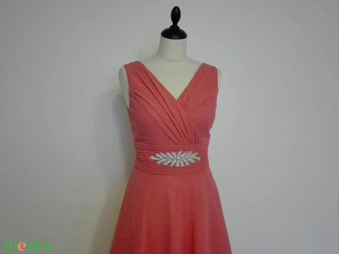 Korall alkalmi ruha menyecske ruha (nicoledesign) - Meska.hu 3bb4118ca6