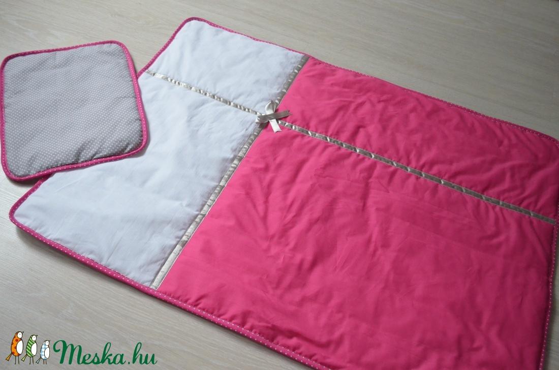 Ágynemű -takaró+párna-pink-fehér-ezüst-szürke-PETRA style (NoaNoa) -  Meska.hu 0b20a78686