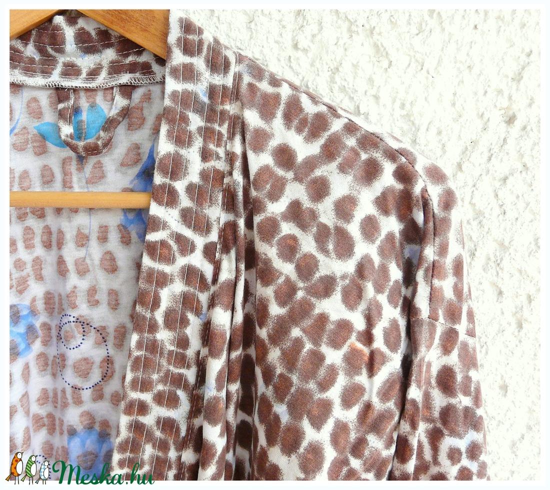 'Pantera '  kimonó - pamut  S /M méret - ruha & divat - női ruha - Meska.hu