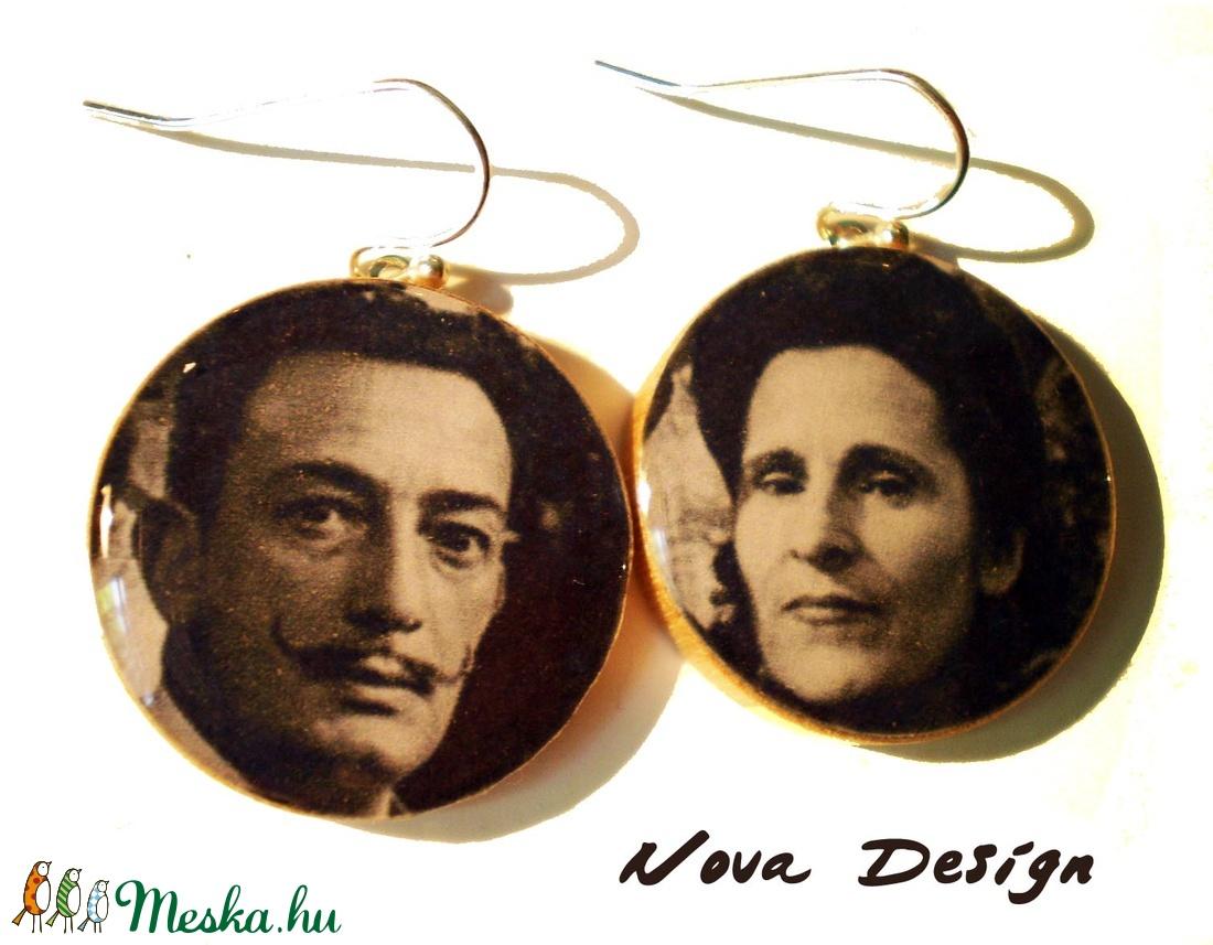 Salvador Dalí és Gala -Híres párok sorozat (novadesignshop) - Meska.hu
