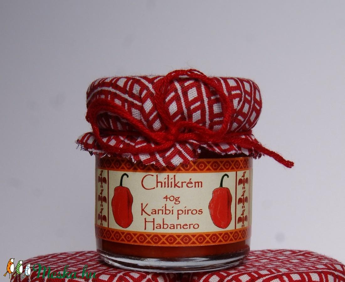 Karibi piros habanero chilikrém 40g (InyencChilikert) - Meska.hu