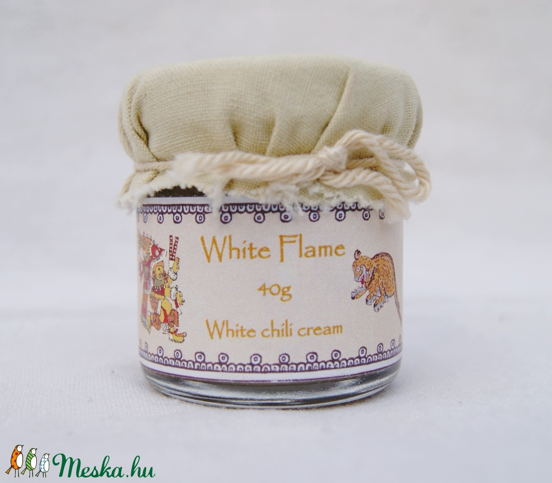 White Flame - fehér chilikrém 40g (InyencChilikert) - Meska.hu