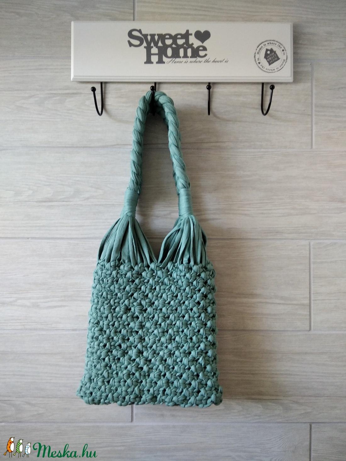 Makramé táska (Ochroma) - Meska.hu