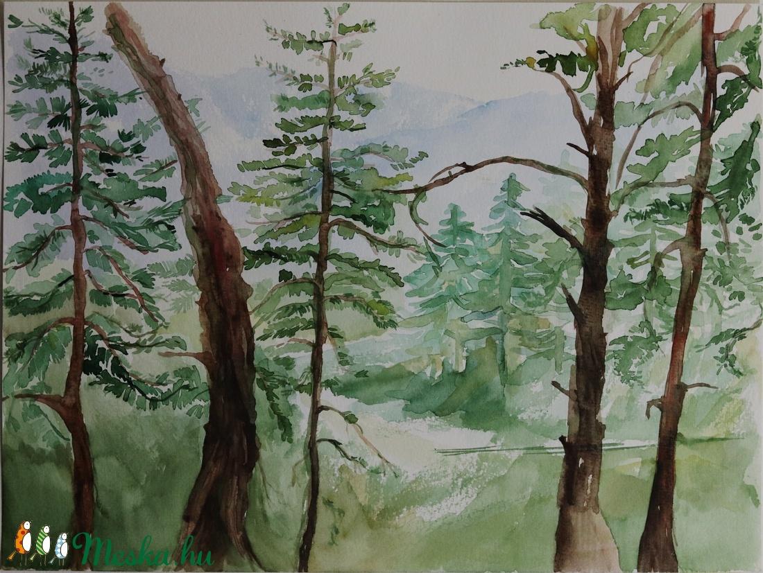 akvarell festmény (PaintedArt) - Meska.hu