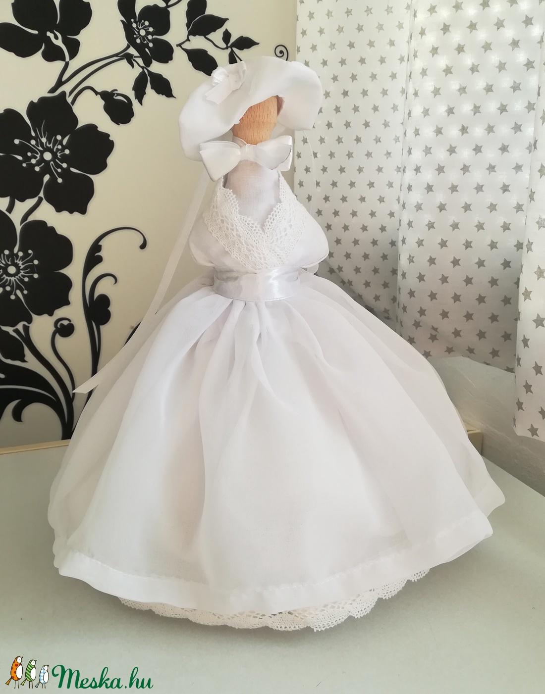 Próba baba - esküvő - dekoráció - asztaldísz - Meska.hu