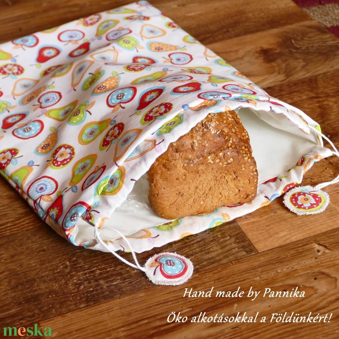 Formakenyeres, péksütis zsák, uzsonnás zsák, tornazsák, oviszsák Vagy, amit akartok :) - otthon & lakás - konyhafelszerelés - kenyértartó - Meska.hu