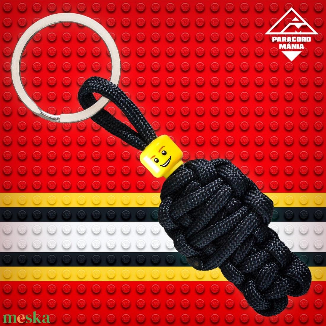 LEGO múmia kulcstartó (paracordmania) - Meska.hu