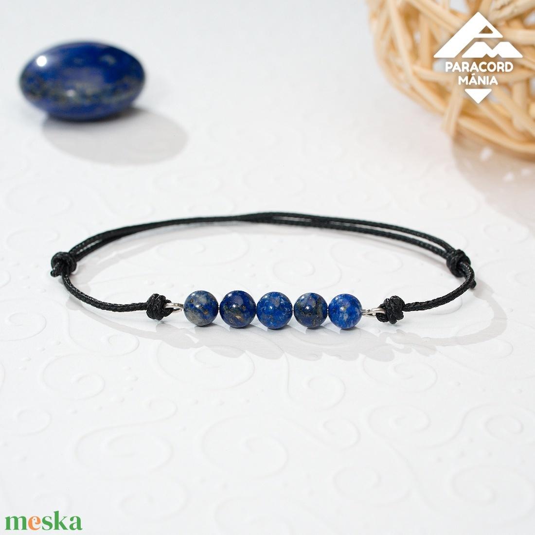 - Minerva - lápisz lazuli ásvány karkötő - Meska.hu