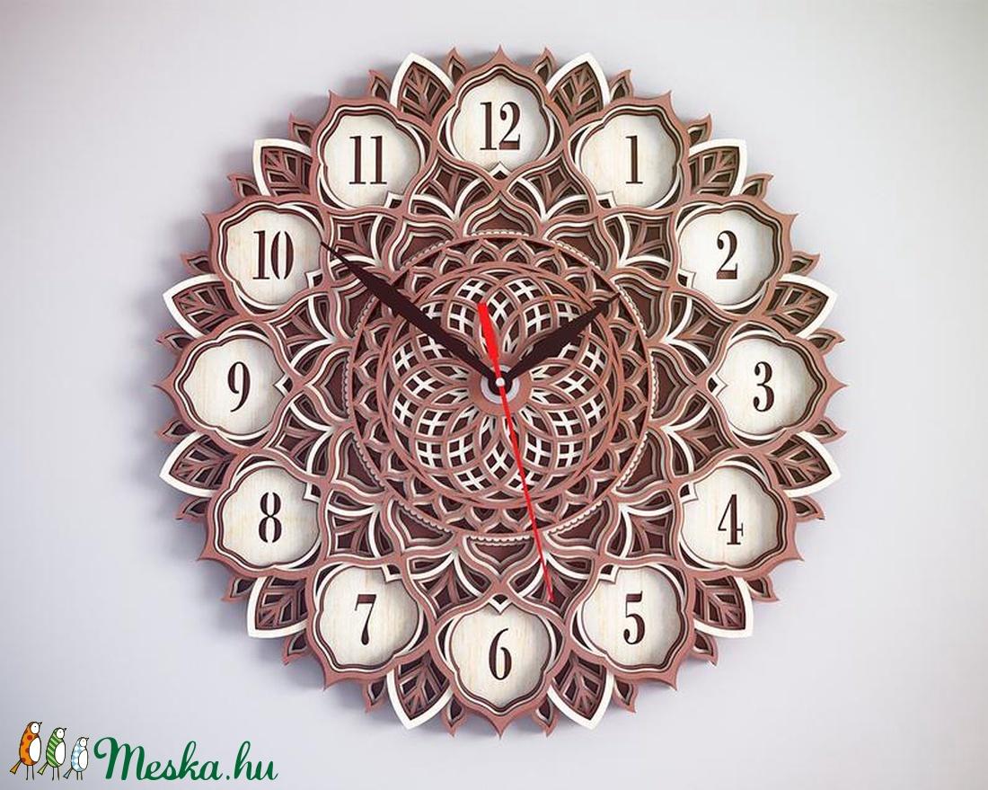 Mandala falióra (v4) - otthon & lakás - dekoráció - falióra & óra - Meska.hu