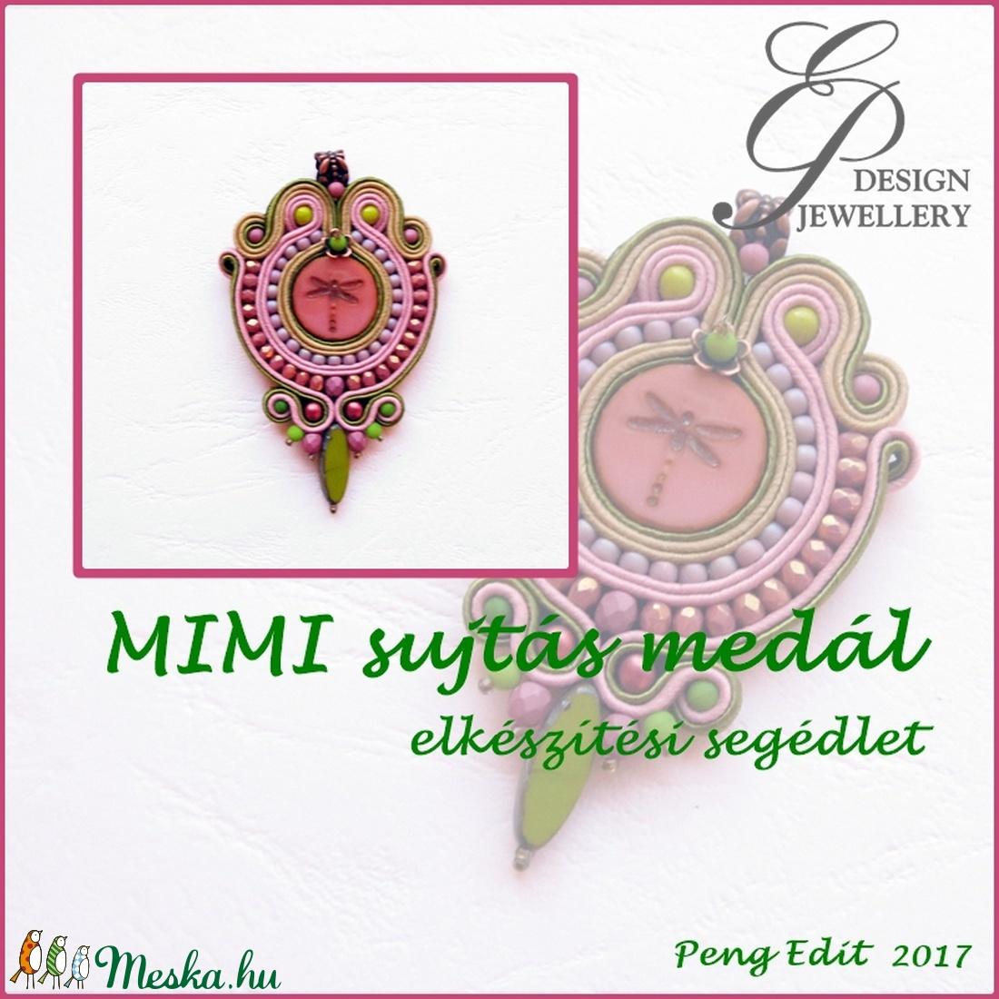 Mimi sujtás medál elkészítési segédlet (Pengedit) - Meska.hu