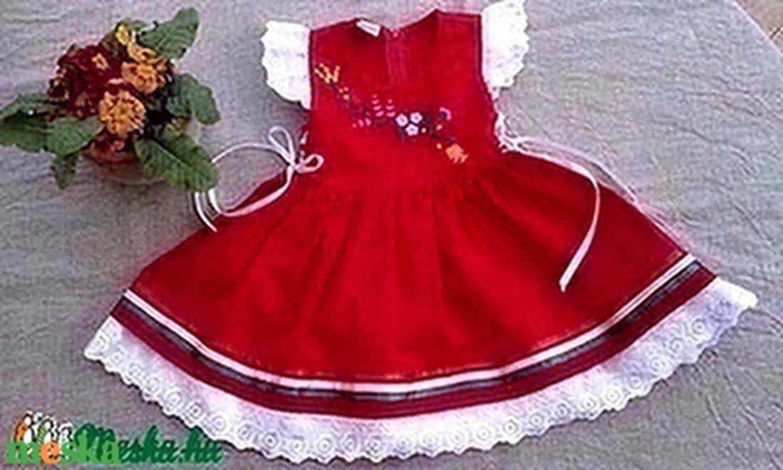 Kalocsai hímzett lányka ruha (peteryeva) - Meska.hu 452e222a70