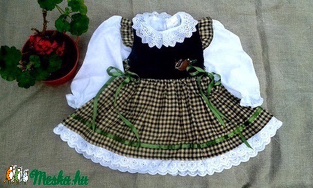 Bajoros stílusú lányka ruha blúzzal. (peteryeva) - Meska.hu 3a805fd8d1