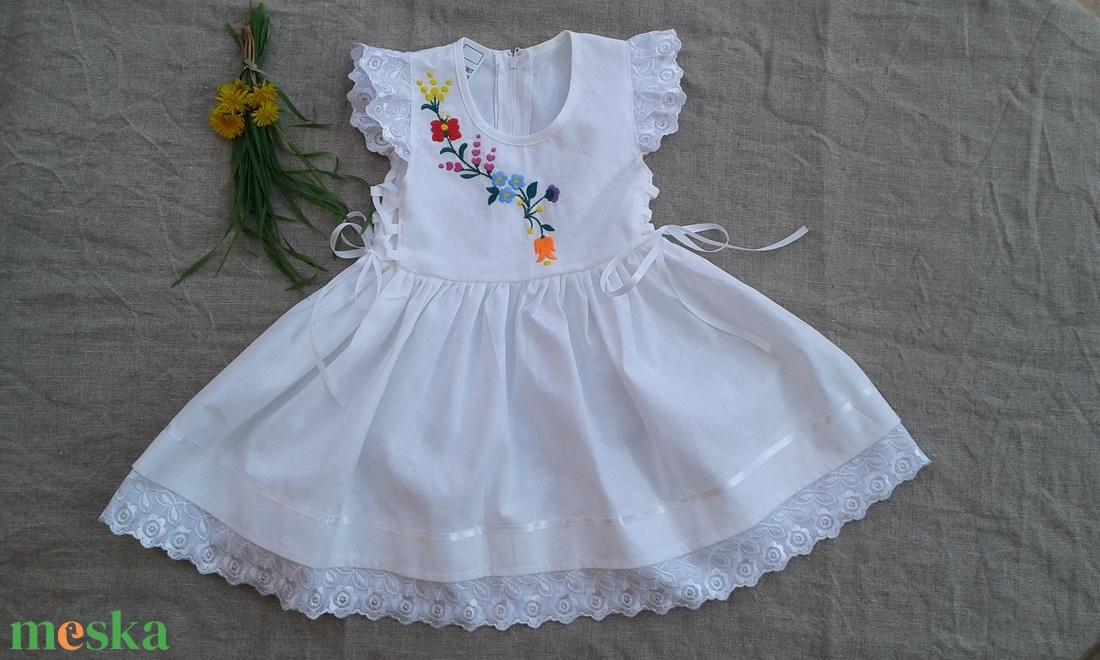 kalocsai hímzett lányka ruha (peteryeva) - Meska.hu d83cbdcbd0