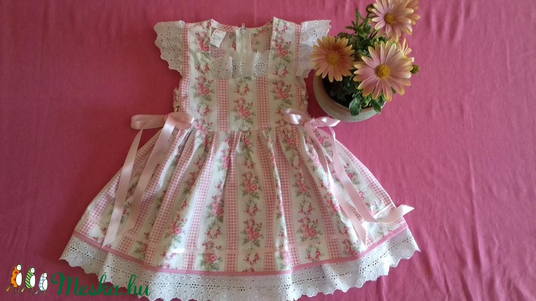 Rózsás lányka ruha (peteryeva) - Meska.hu