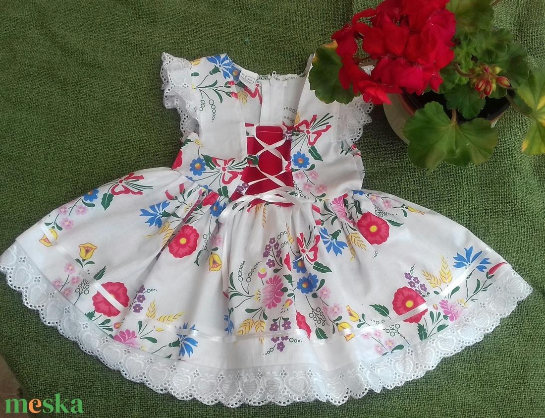 Kalocsai mintás lanyka ruha (peteryeva) - Meska.hu