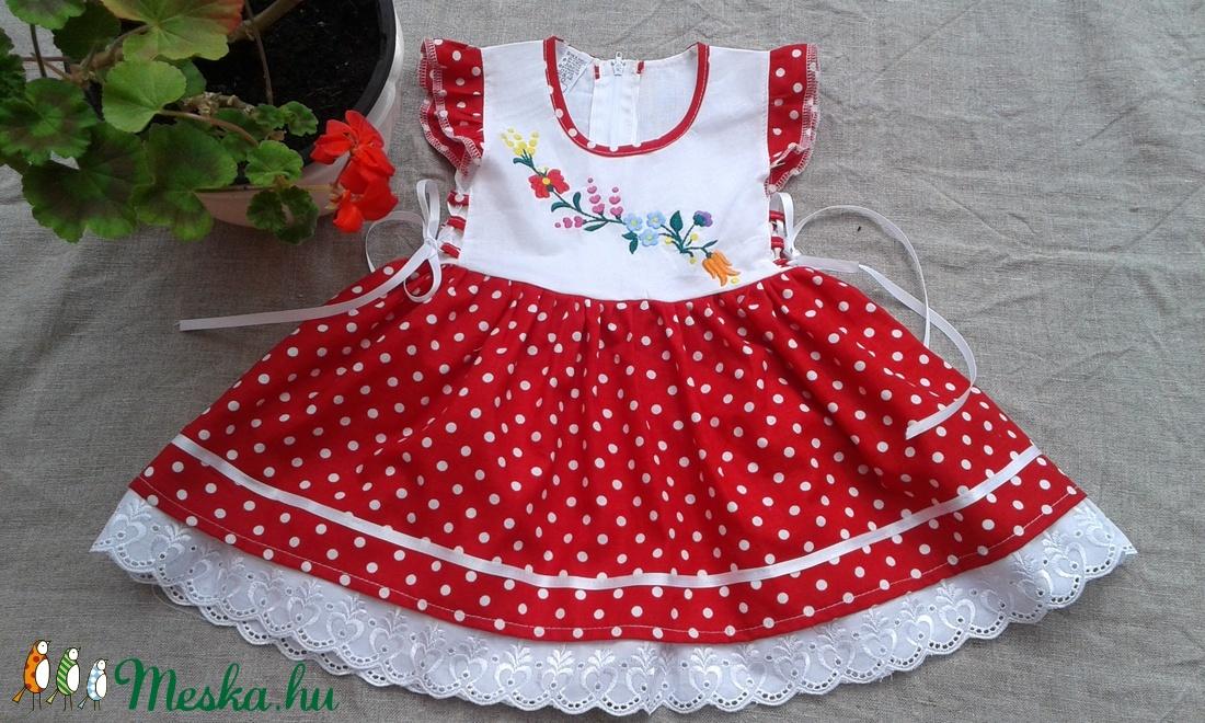 Katica lányka ruha (peteryeva) - Meska.hu 67545689b4