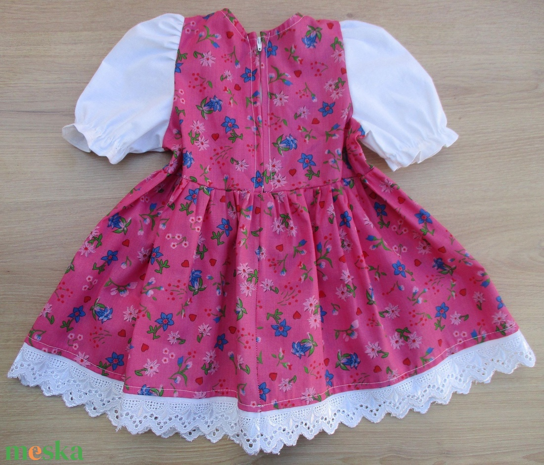 Tradicionális bajor népviselet ...trachten lányka ruha - ruha & divat - babaruha & gyerekruha - ruha - Meska.hu