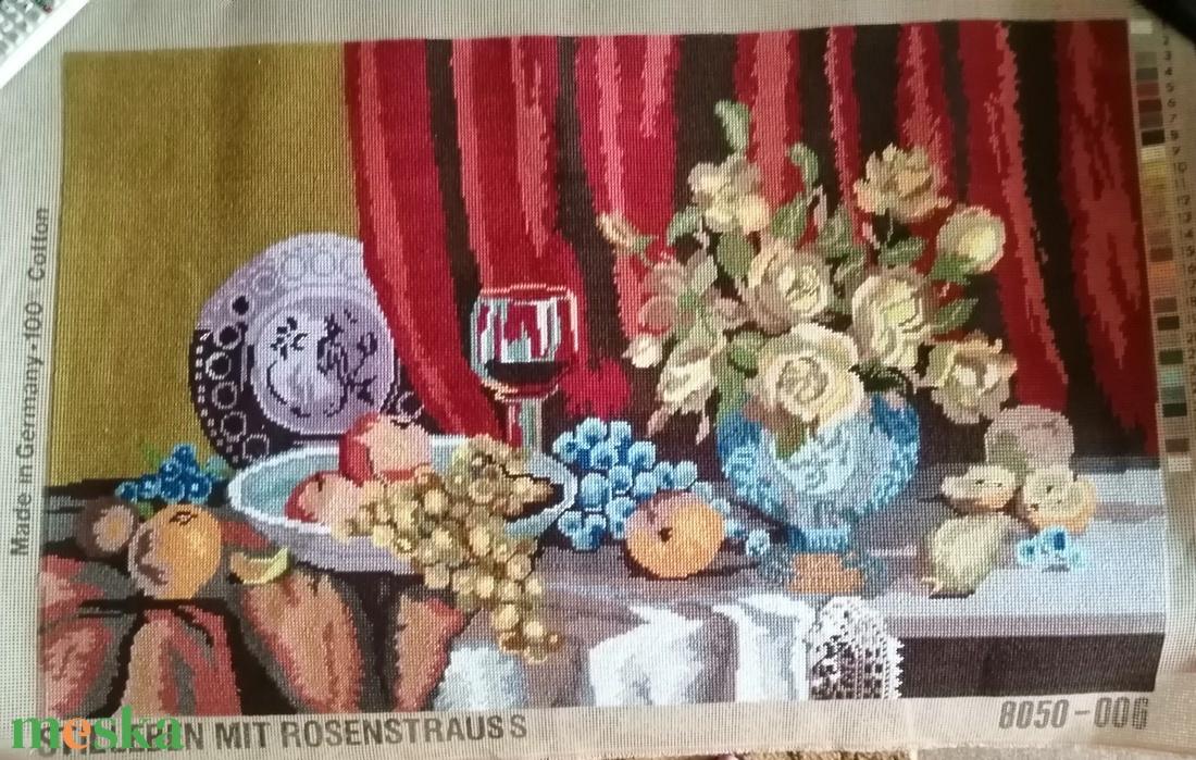 Gobelin csendélet - művészet - textilkép - gobelin - Meska.hu