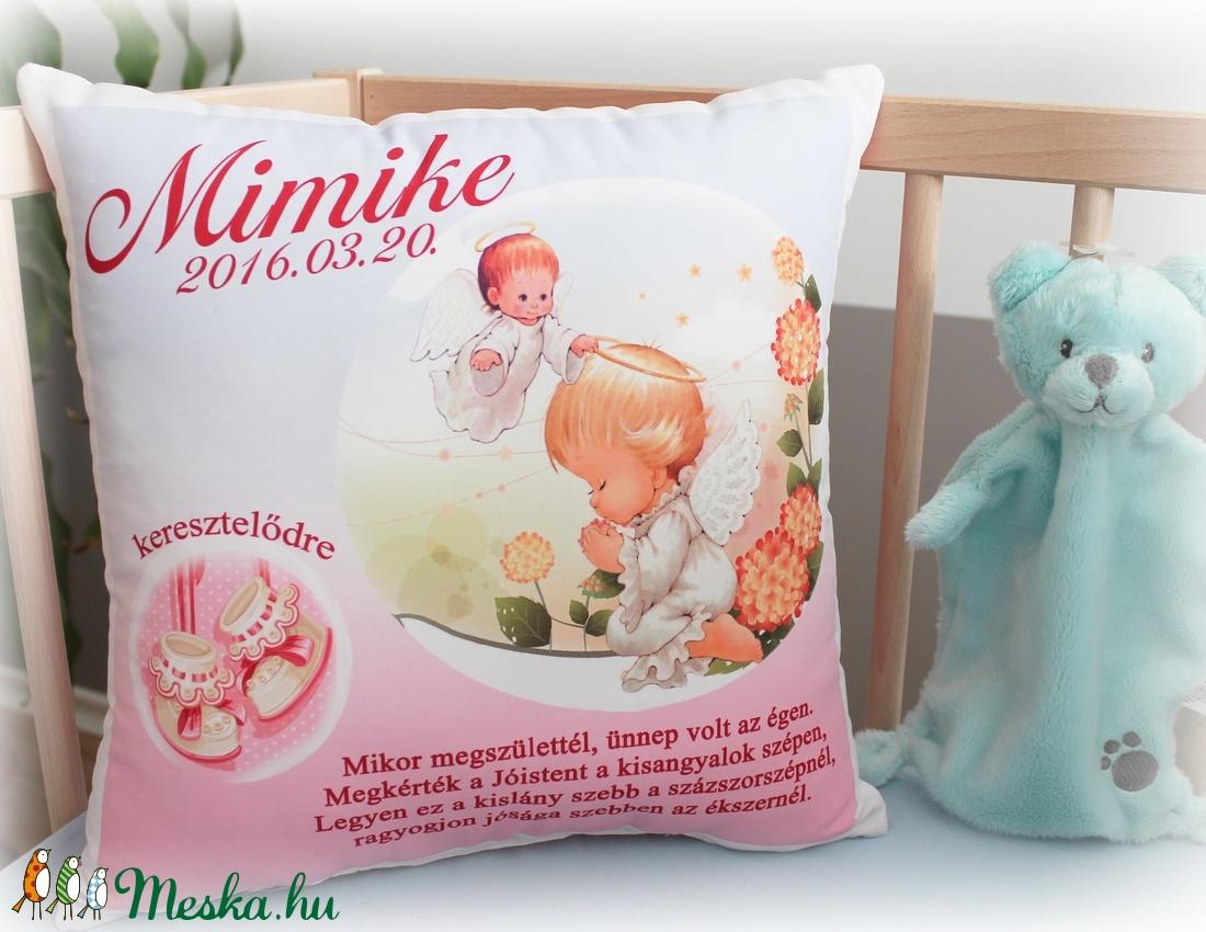 35c6550f232 Keresztelőre ajándék párna (Pillow) - Meska.hu