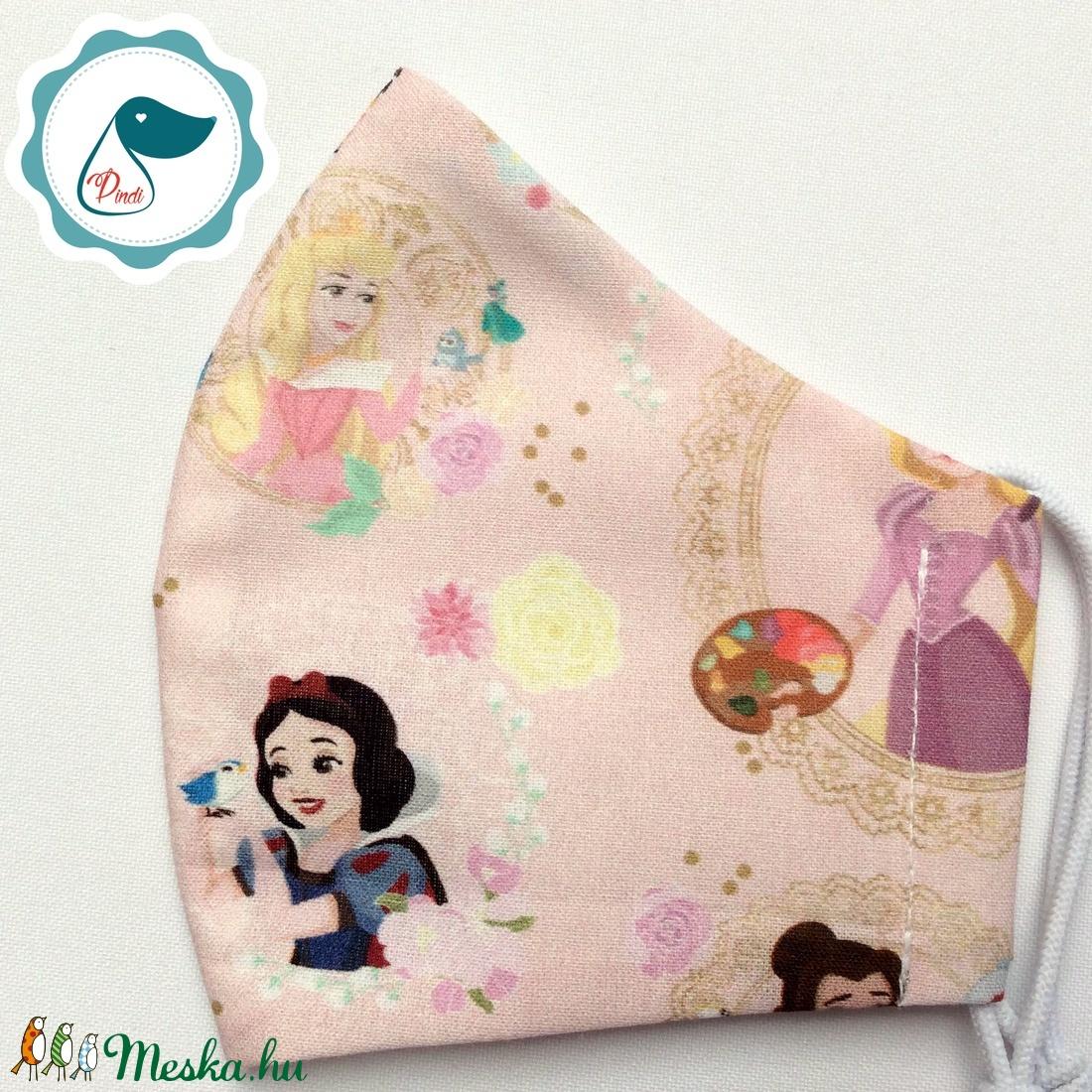 Egyedi - királylényos maszk - gyerek arcmaszk - textil szájmaszk - egészségügyi szájmaszk - mosható szájmaszk - maszk, arcmaszk - gyerek - Meska.hu