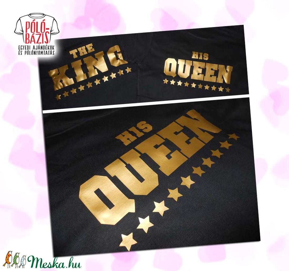 ... Páros póló pulóver - King és Queen (PoloBazis) - Meska.hu ... 2bf8f6252e