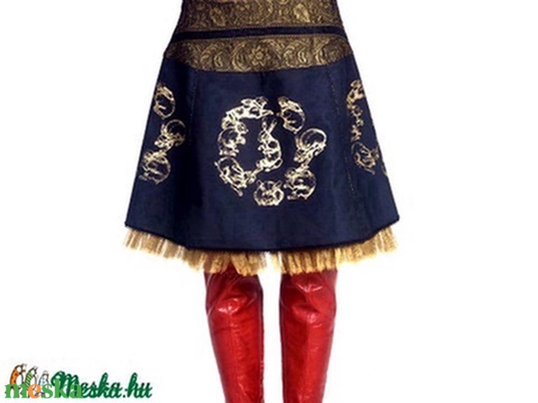 Nyulas szoknya - ruha & divat - női ruha - szoknya - Meska.hu