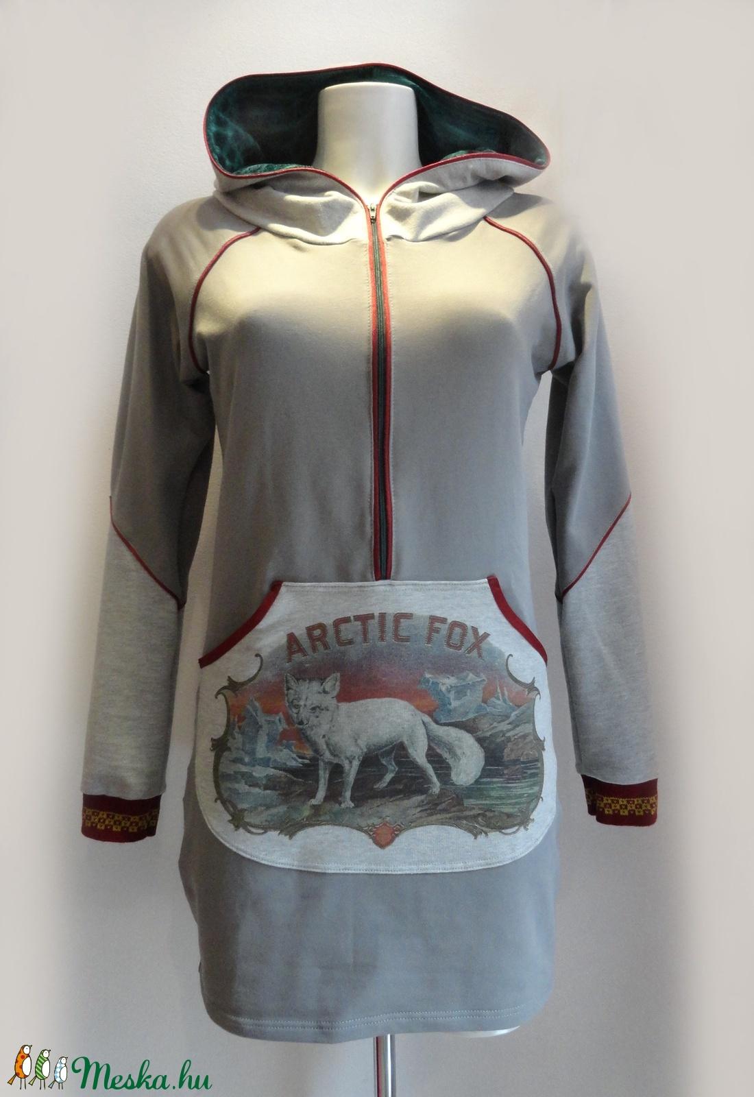 Sarki rókás zsebes felső - ruha & divat - női ruha - ruha - Meska.hu