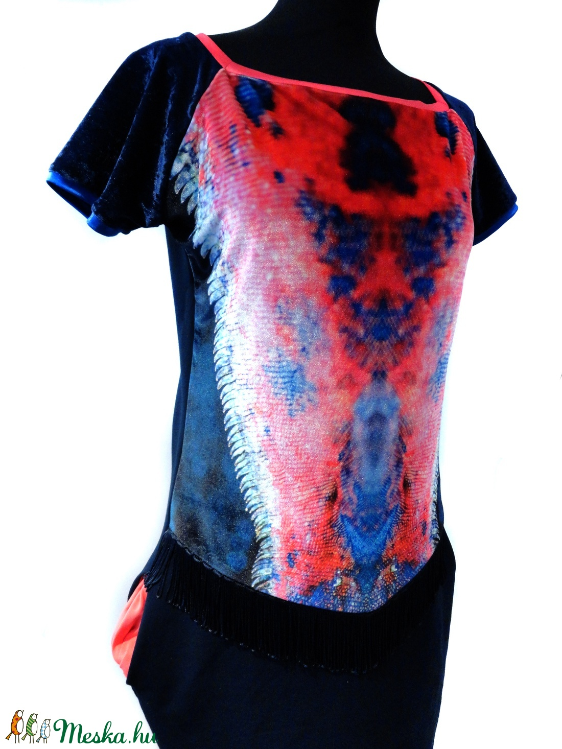 Printelt zsebes ruha - ruha & divat - női ruha - ruha - Meska.hu