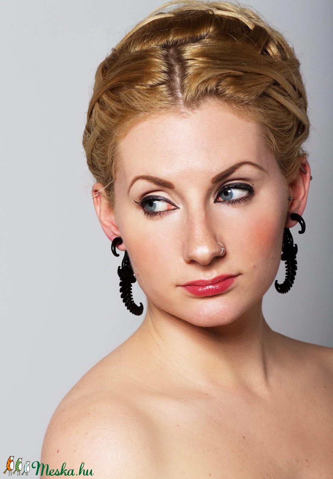 'Dalos inda'  fülbevaló - ékszer - fülbevaló - fülgyűrű - Meska.hu