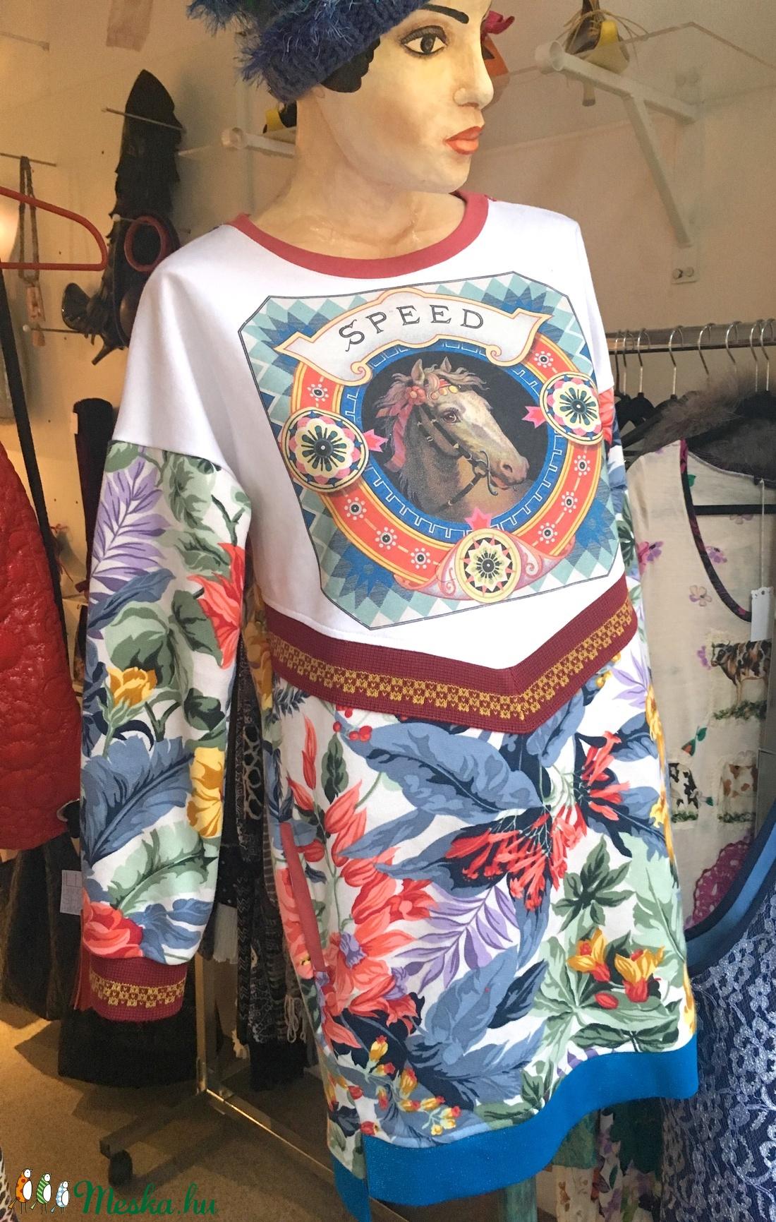 Lovas zsebes felső - ruha & divat - női ruha - ruha - Meska.hu