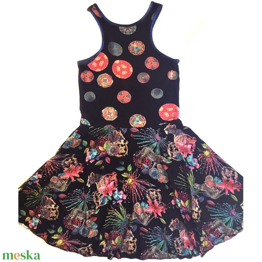 'Jungle' ruha - ruha & divat - női ruha - ruha - Meska.hu