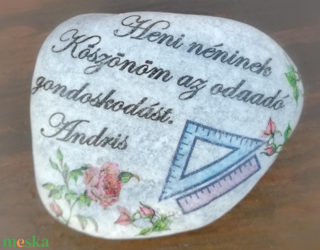 Feliratos kövek a tantárgyhoz igazítva . :-) - Meska.hu