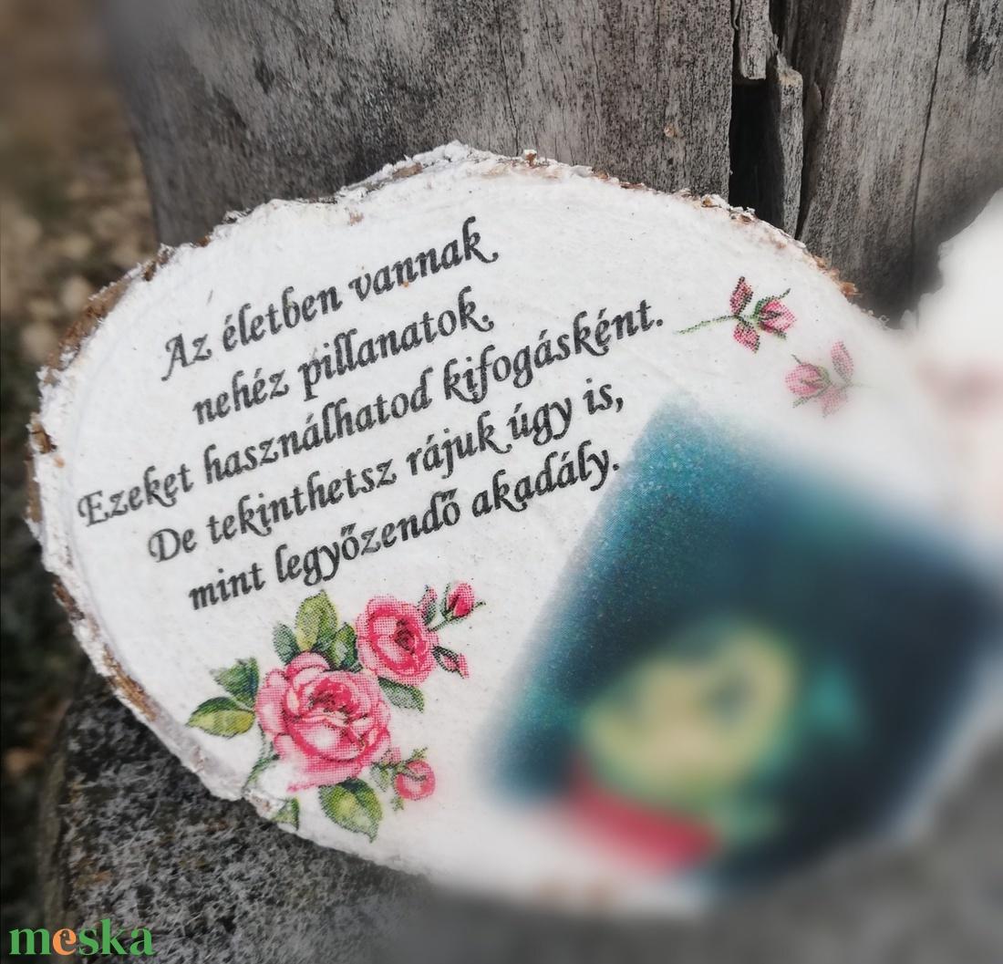 Fényképes-idézetes hűtőmágnes. :-)  - Meska.hu