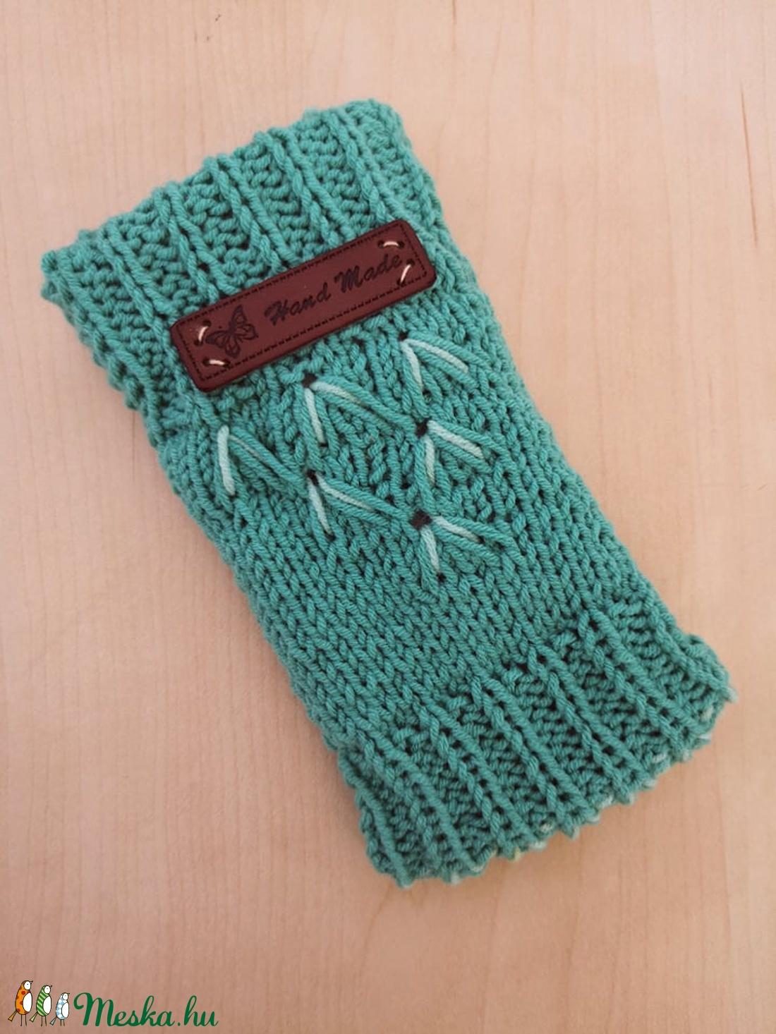 Smaragd bambusz szemüveg- vagy telefontok - Meska.hu