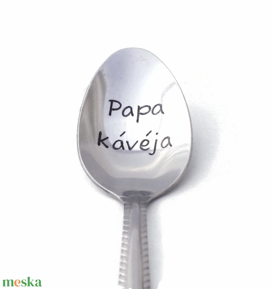 Papa kávéja! kiskanál (Revans) - Meska.hu