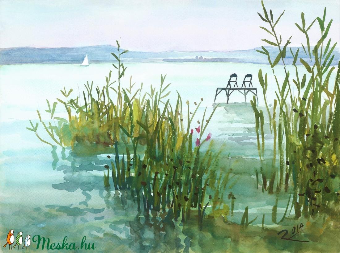 Nádas - art print (akvarell festményem alapján) - művészet - művészi nyomat - Meska.hu