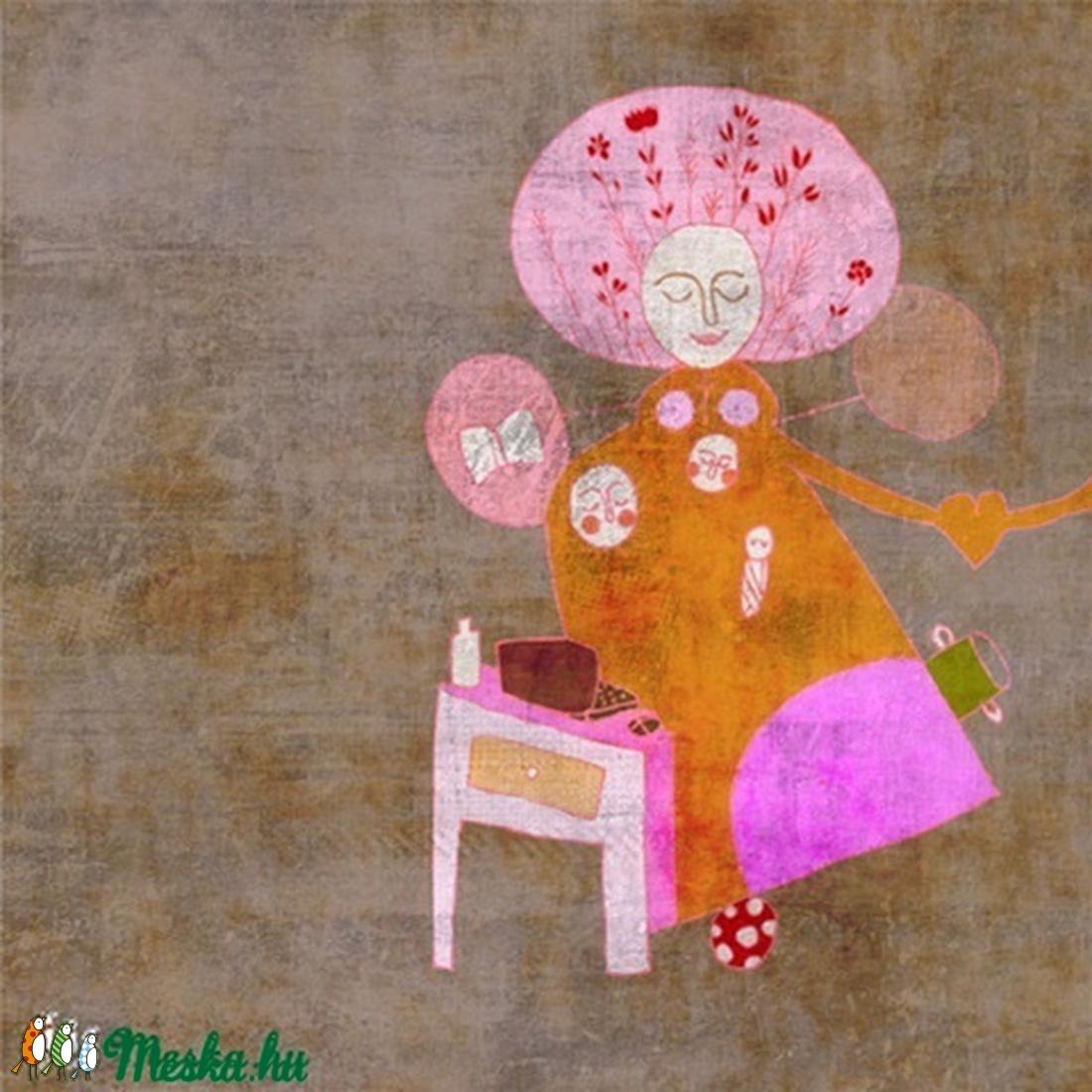 Nőideálom 2011 - illusztráció, digitális festmény (schalleszter) - Meska.hu