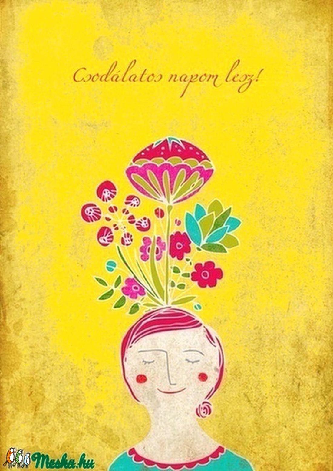 Pozitív pszichológia sorozat - Csodálatos napom lesz! (schalleszter) - Meska.hu