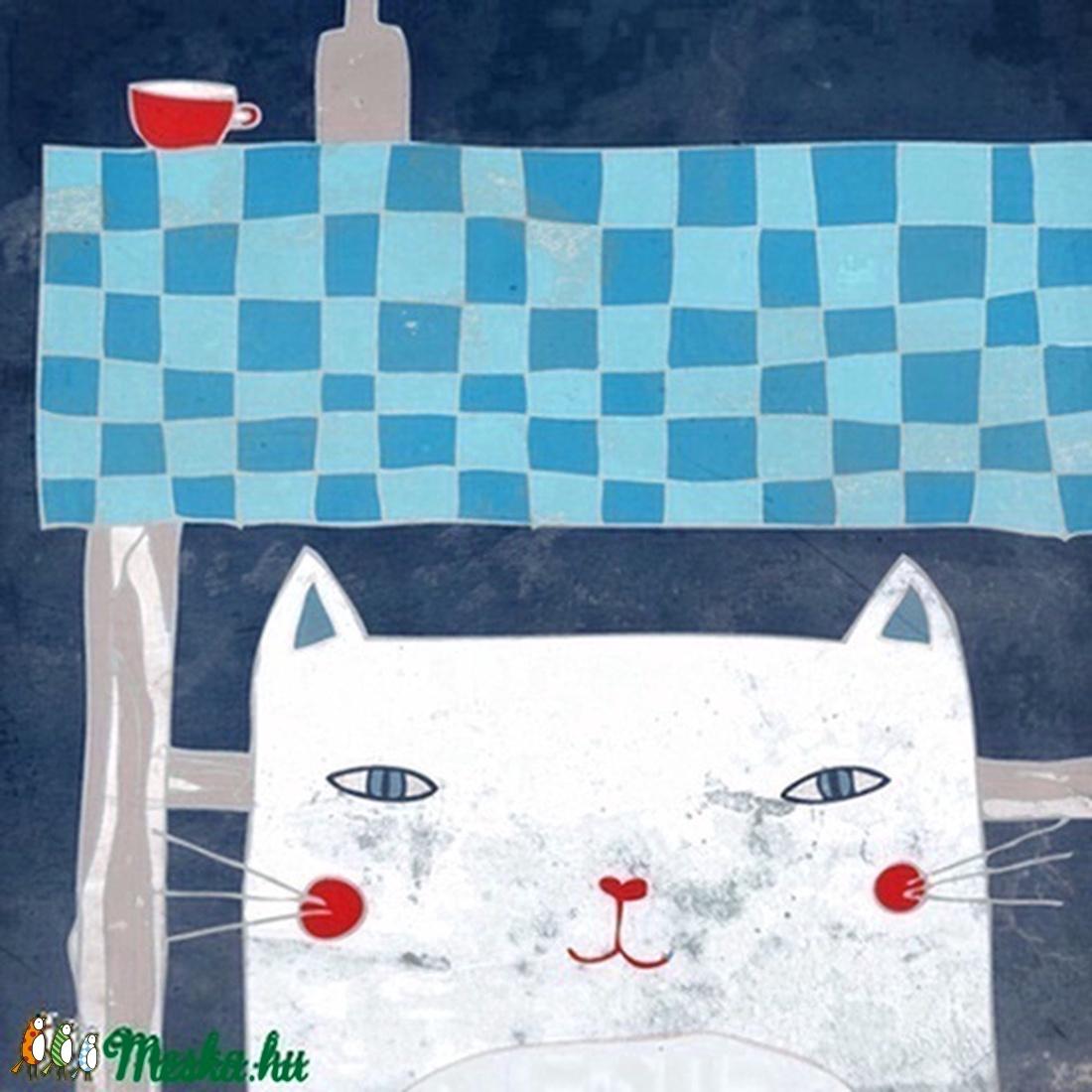 Éjjel a konyhában - kép a falra - Meska.hu