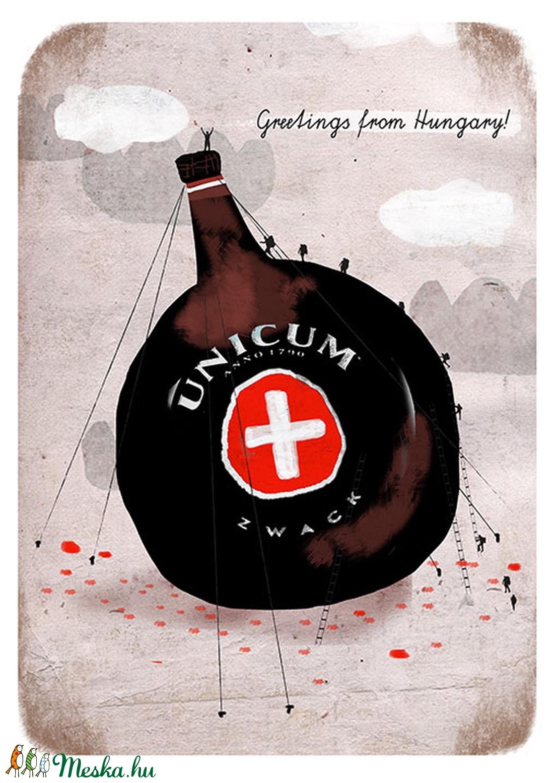 Unicum - Greetings from Hungary - Meska.hu