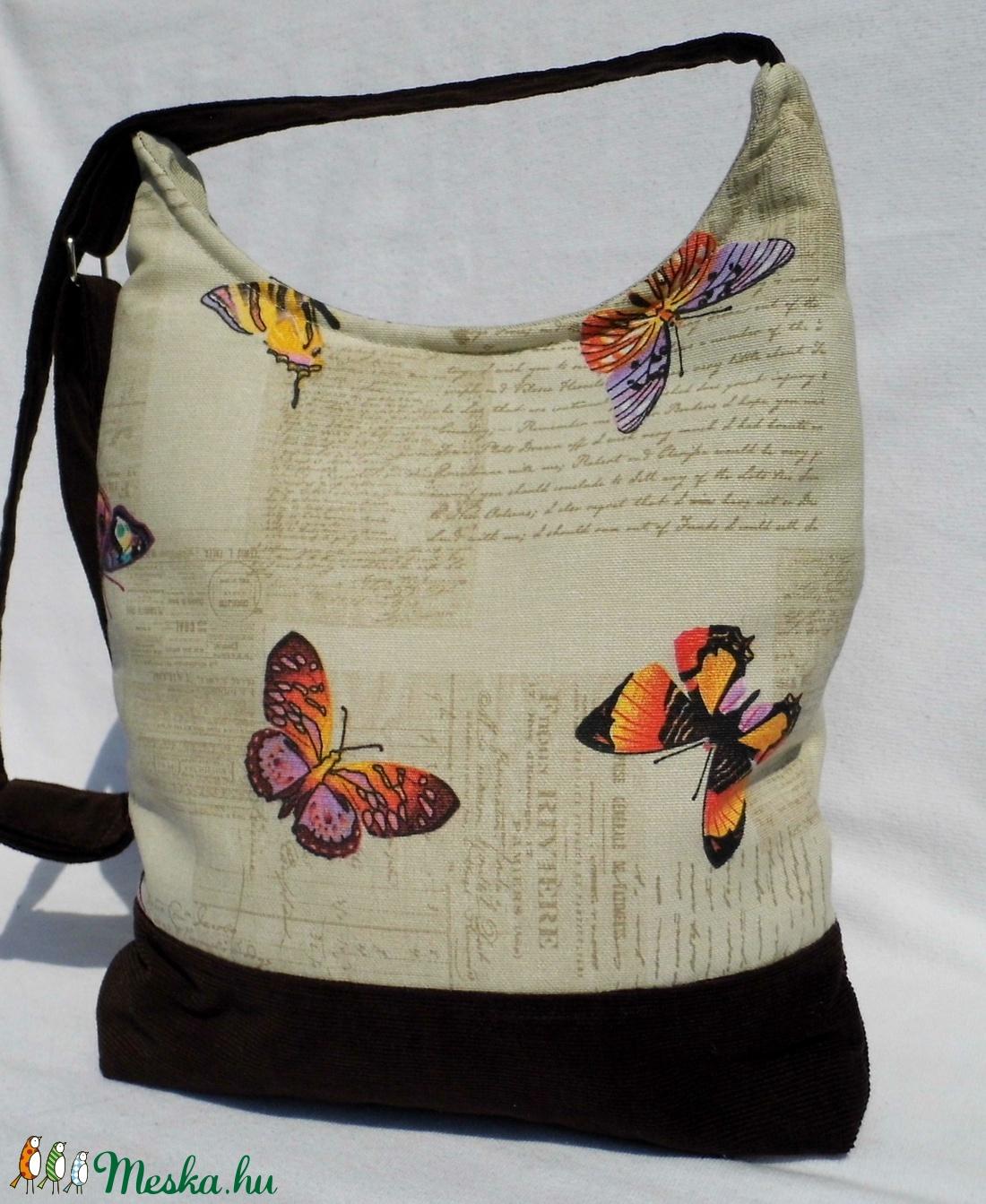 Színes pillangós női táska (smagdi) - Meska.hu 2ec70038b6