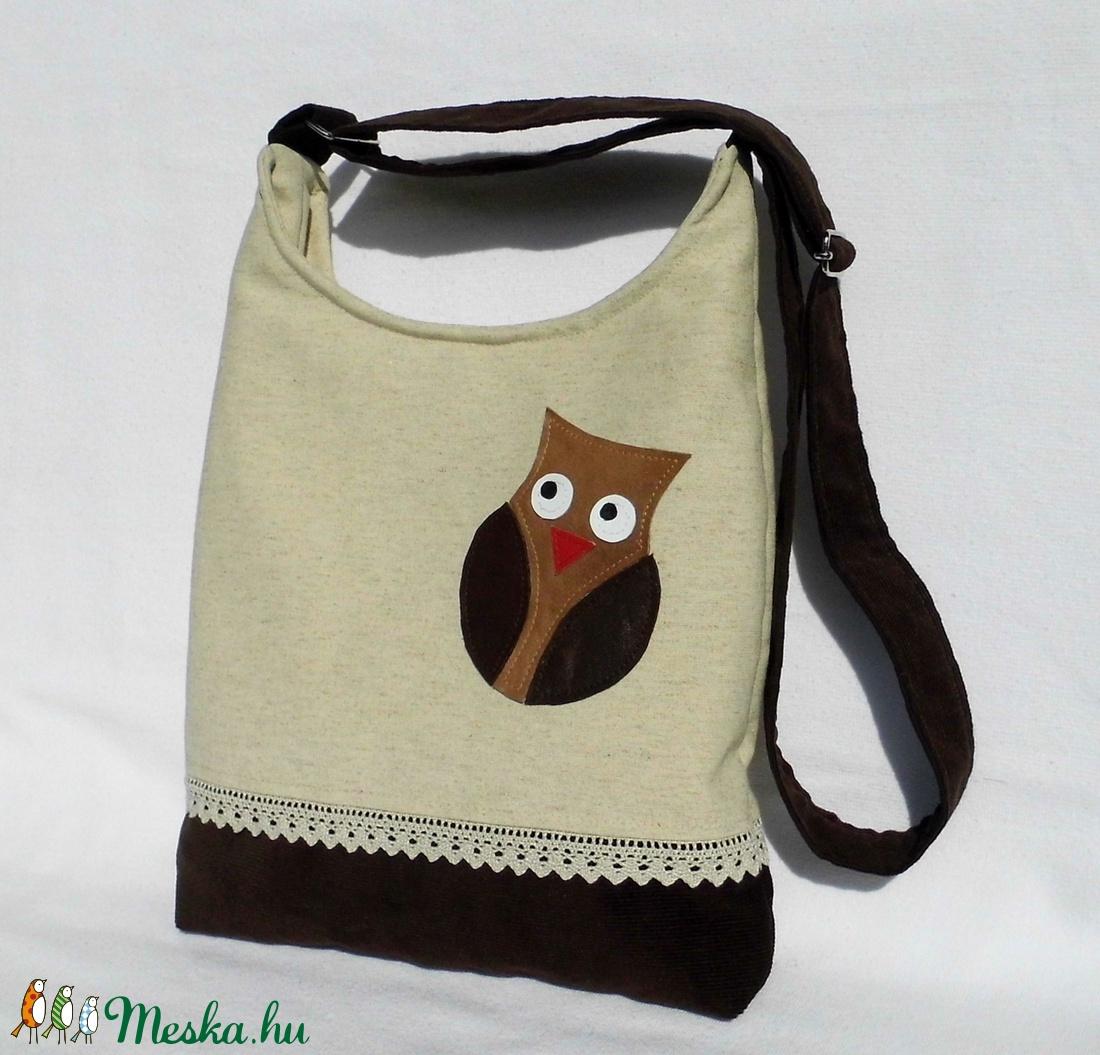 Baglyos női táska (smagdi) - Meska.hu b94b69c089