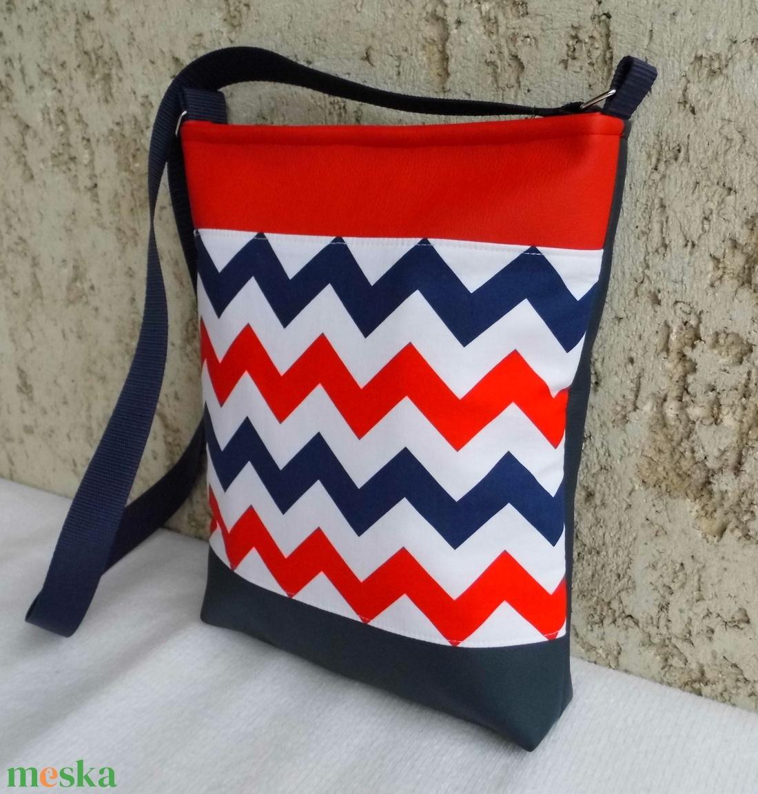 Cakkos táska matróz színekben (smagdi) - Meska.hu 718c3023e6
